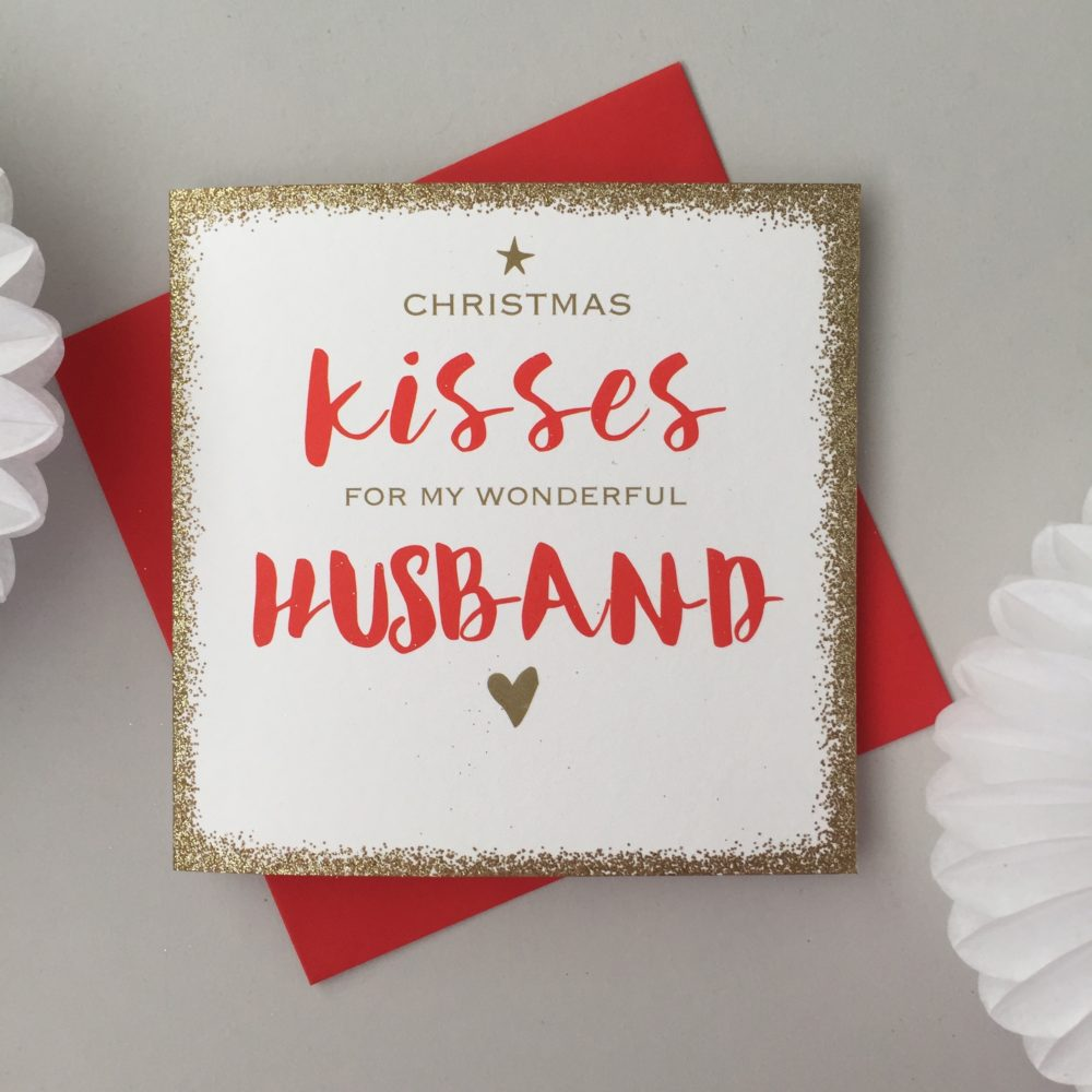Husband Christmas Cards.Christmas Card For Husband
