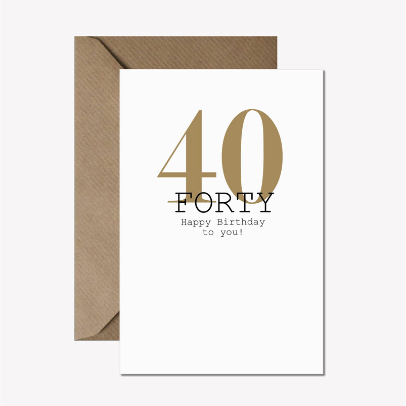 40th birthday card always sparkle 40th birthday card 295 bookmarktalkfo Image collections