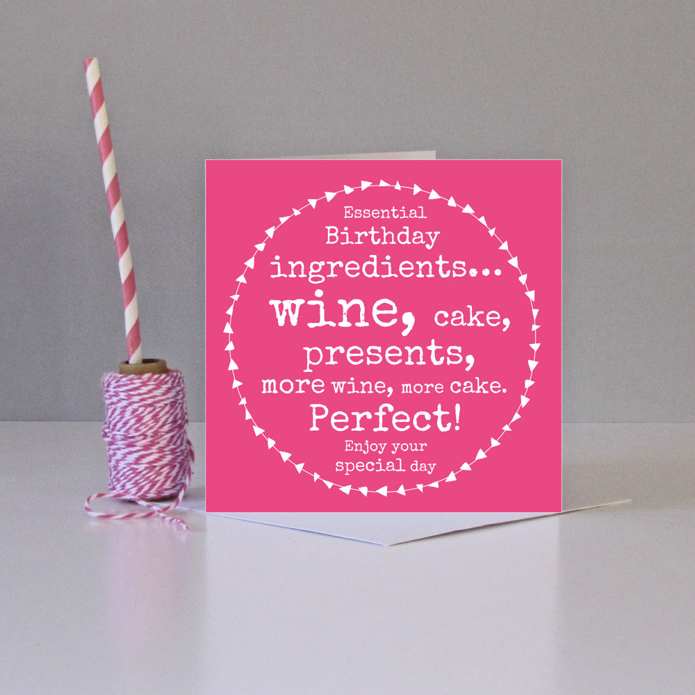 Funny Vine Photo Birthday Cards: Funny Female Birthday Card